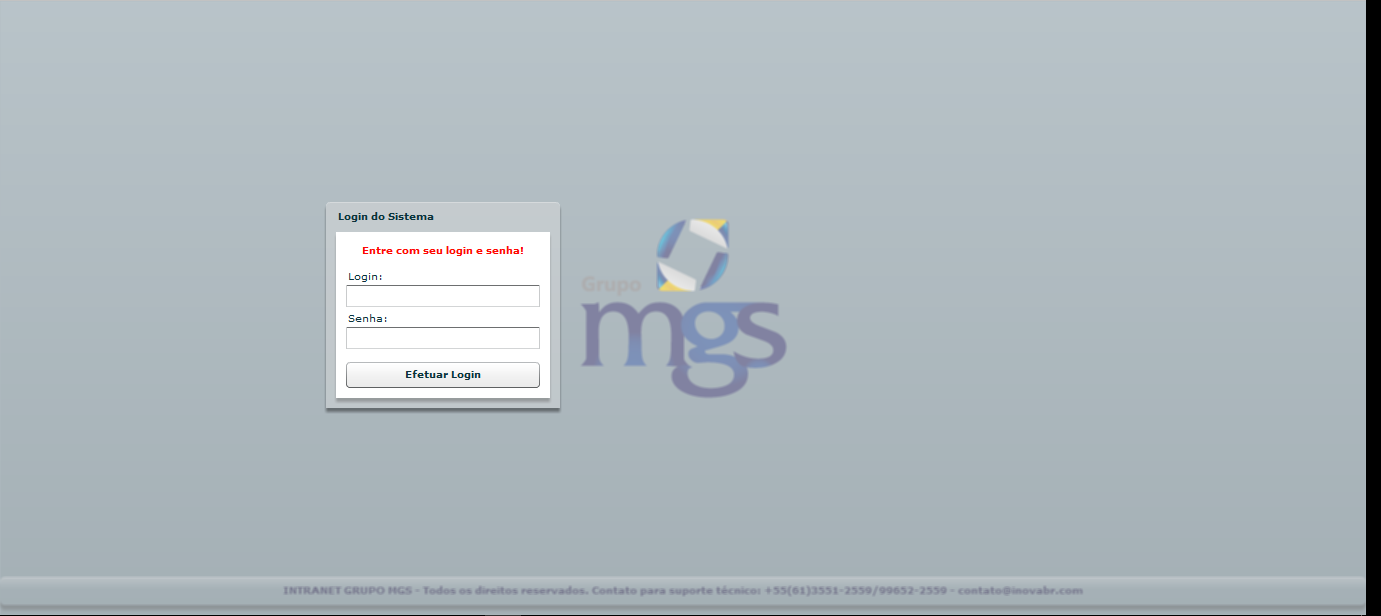 Intranet MGS Contabilidade